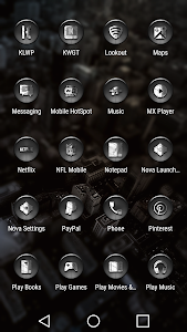 Dap Gray - Icon Pack screenshot 3