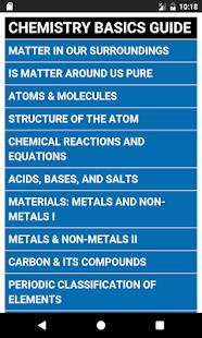 Learn Chemistry Basics Complete Guide (OFFLINE) - náhled