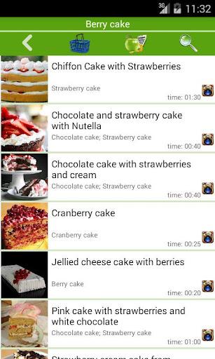 Cake recipes Apk 2