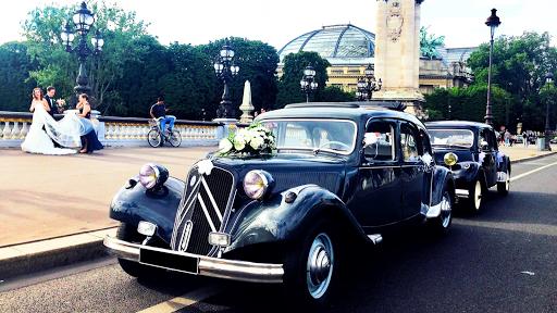 Mariage voiture de prestige
