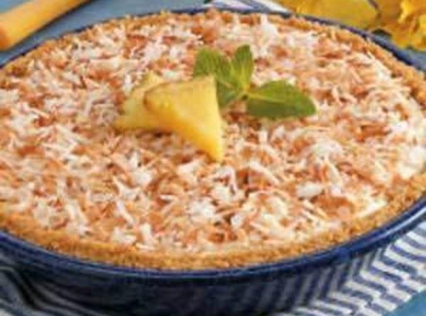 Maui Zowie Pineapple Pie Recipe