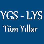 Ygs-Lys Tüm Yıllar