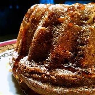 Apple Honey Bundt Cake.