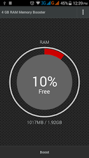 4 GB RAM Memory Booster Screenshot