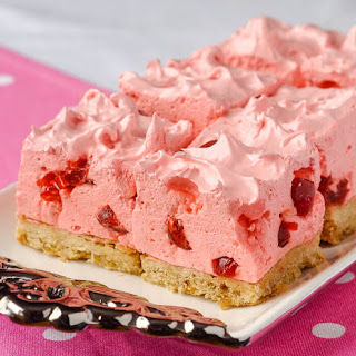 Cherry Marshmallow Cookie Bars