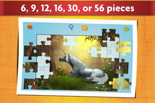 Unicorns Jigsaw Puzzles Game - Kids & Adults ud83eudd84  screenshots 3