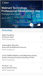 Walmart Tech Events- screenshot thumbnail