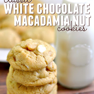 Classic White Chocolate Macadamia Nut Cookies Recipe