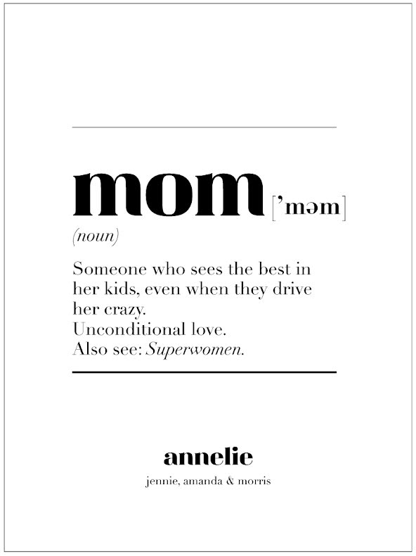 MOM IS