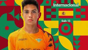 Diego Vicente ha sido convocado por la Selección Española Sub15.