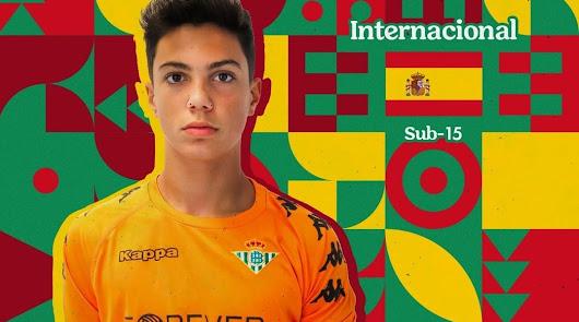 Un almeriense con la Selección Española Sub-15