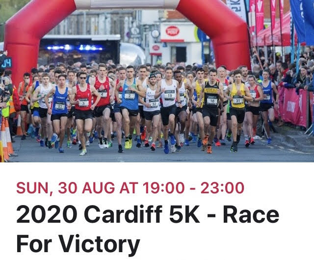 Cardiff 5K - Race For Victory 2021 Times