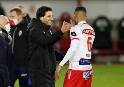 """Jorge Simao kijkt terug op goede wedstrijd van zijn ploeg: """"Blij voor de spelers, want ze verdienen het"""""""