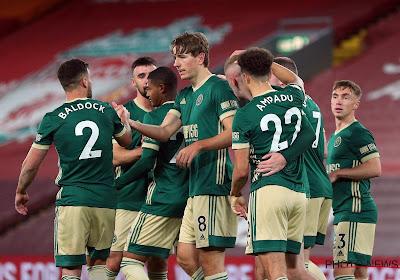 📷 Sander Berge ouvre le score pour Sheffield face à Liverpool