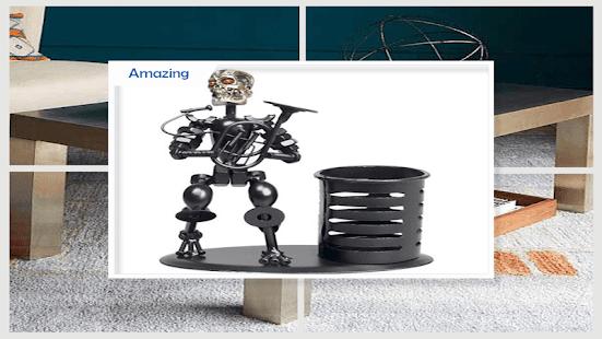 Creative Metal Home Decoration - náhled