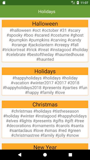 Hashtag Pro screenshot 4