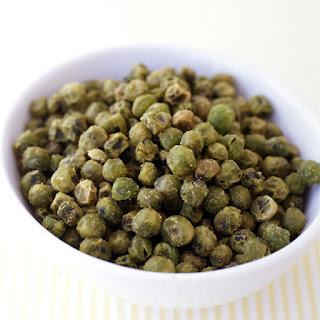 Wasabi Roasted Peas.