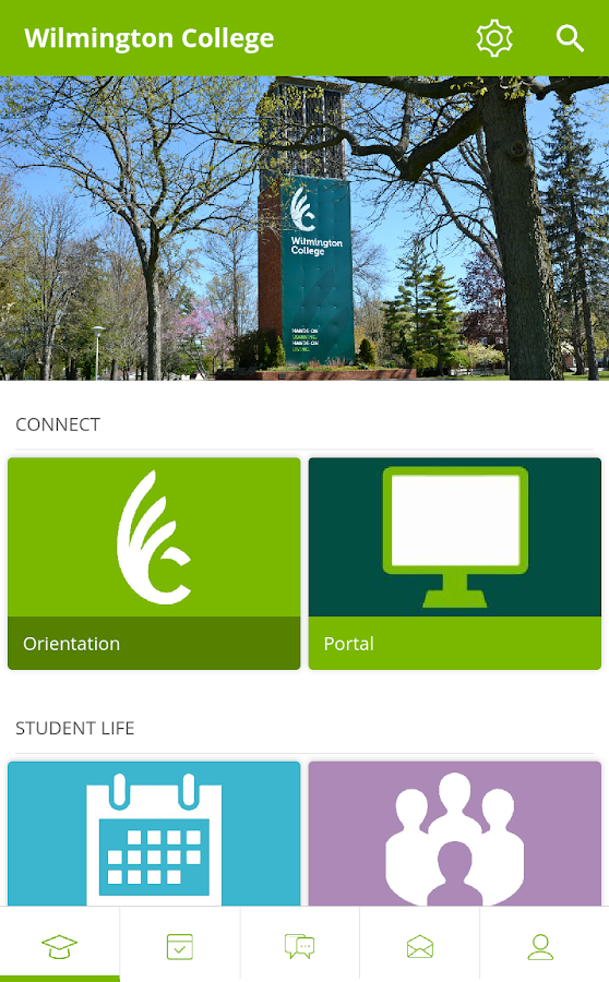 Wilmington College- screenshot
