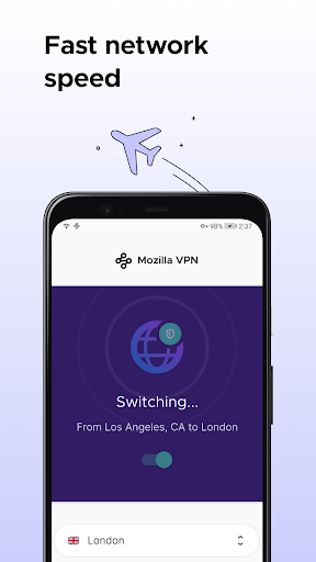 Mozilla VPN screenshot 3