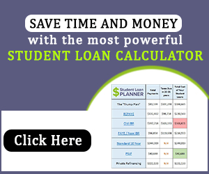 med school loan calculator