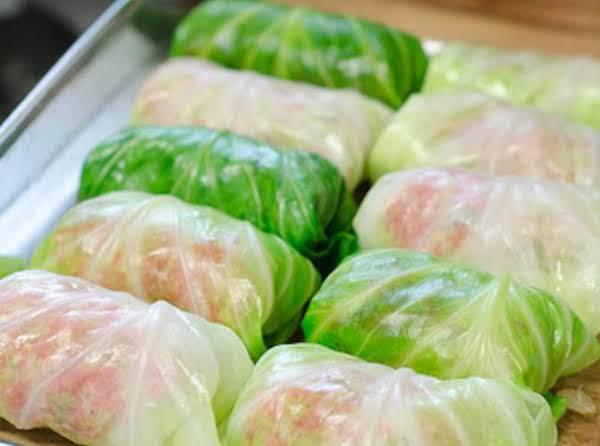 Tasty Stuffed Cabbage Rolls Recipe