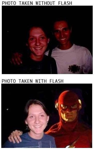 picture with flash hilarious pics