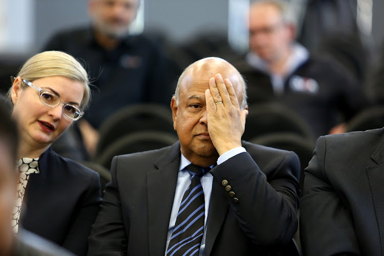 Public Enterprise Minister Pravin Gordhan's statement was leaked to the media before his testimony at the State Capture Inquiry a.