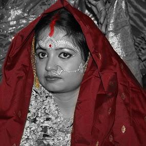 by Prosenjit Sen - Wedding Bride