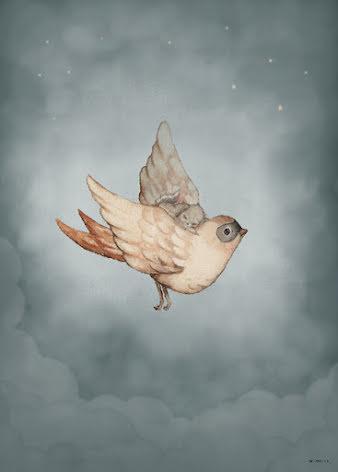 Dear Sparrow 50x70