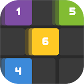 Slide To Six - Endless 2048 & Merged Number Puzzle