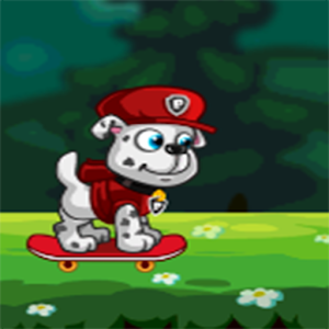 Paw Puppy Skater Jungle Run for PC and MAC