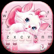 Girlish Kitty Keyboard Theme