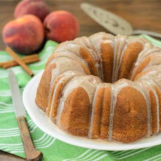 Peach Spice Bundt Cake.