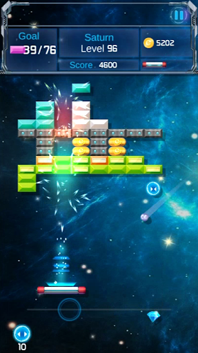 Brick Breaker : Space Outlaw filehippodl screenshot 7