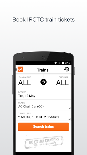 IRCTC Bookings by Cleartrip