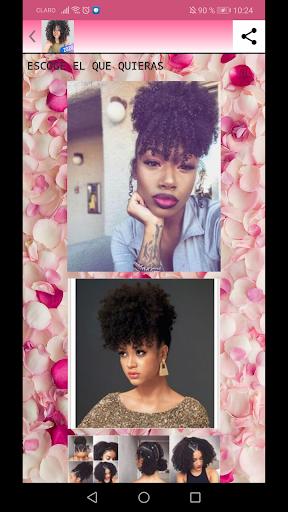 peinados afro y rizos 2020 screenshot 2