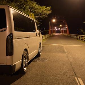 ハイエースバン TRH200V SUPER GL 2018年式のカスタム事例画像 k.i.j@黒バンパー愛好会さんの2018年09月11日22:56の投稿