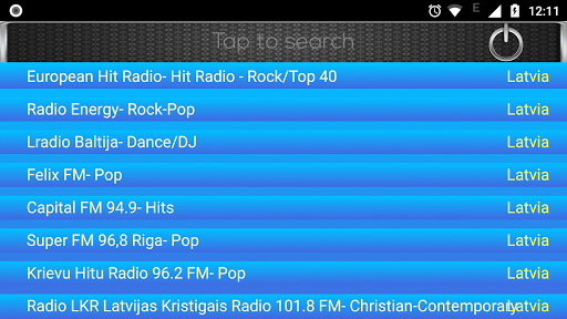 radio fm latvia screenshot 3