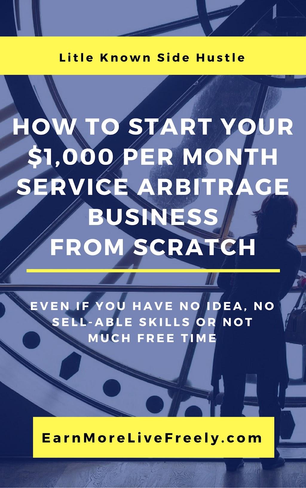 service arbitrage