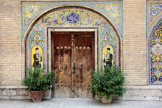 Photo: Day 138 -  TIiling on a Building in Golestan Palace Complex, Tehran #2