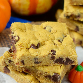 Pumpkin Brown Butter Cookie Bars