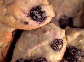 Lemon Thyme Blueberry Muffin Cookies Recipe