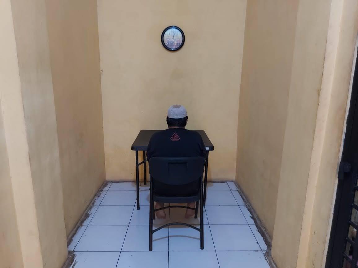 SatTahti Polres Kobar sediakan sarana sistem jenguk tahanan Online