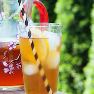 Honey & Lemon Sweet Iced Tea