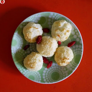 2-ingredient Coconut Macaroons.