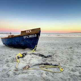 Stranded by Elmer van Zyl - Transportation Boats ( hdr process )