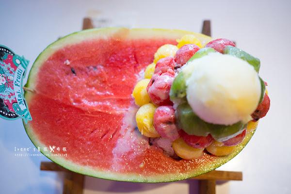 逢甲美食/用喝的整顆西瓜汁/鐵達尼號冰品.Maj.frutti-冰菓藝棧