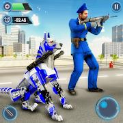 US Police Dog Robot Cop Police Dog Games
