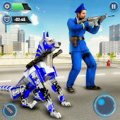 US Police Dog Robot Cop Police Dog Games Android APK Download Free By Game Kraft Studios