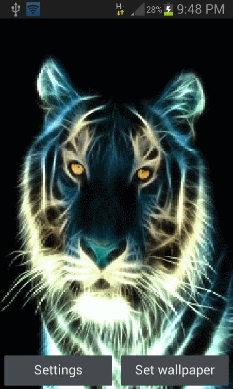 abstract tiger live wallpaper android apps on google play